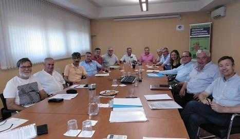 La junta d'Acatcor va nomenar ahir Amadeu Ros president.