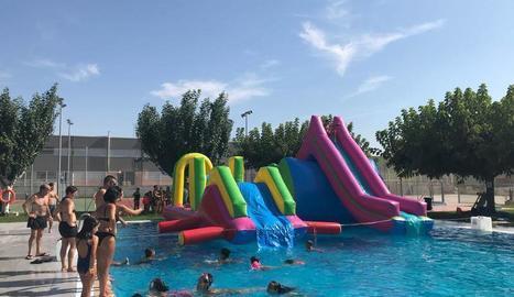 Torrefarrera celebra aquest divendres la Festa dels Inflables Aquàtics