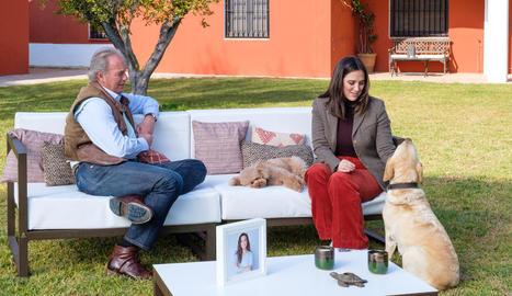 Tamara Falcó visita Bertín