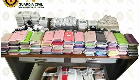 El material intervingut està valorat en 7.000 euros.