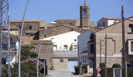 Les Pallargues, un dels pobles dels Plans de Sió.