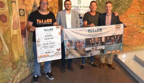 La Diputació de Lleida, que col·labora amb la iniciativa, va acollir ahir la presentació.