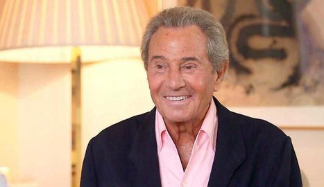 L'actor, en una de les seues últimes aparicions en públic.