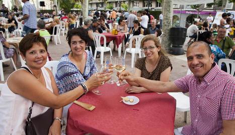 La festa, de caràcter rotatiu, al Pati de la capital de l'Urgell.
