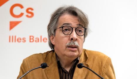 Xavier Pericay, un dels fundadors de Ciutadans.