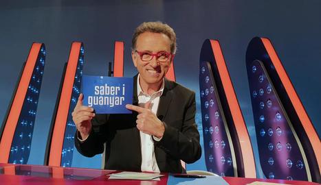 El presentador de l'històric programa, Jordi Hurtado.