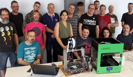 Demostració de les aplicacions de les impressores 3D.