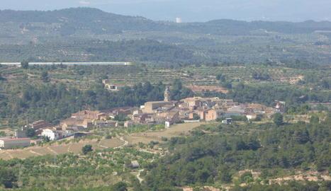 Vista panoràmica del municipi de Bovera.