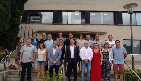 David Masot, alcalde de Maials, va prendre possessió ahir com a president per JxCat al consell del Segrià.