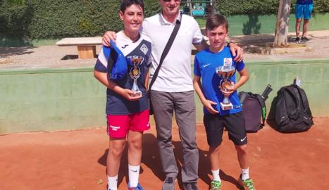 Nil Rubio, campió aleví al CT Urgell