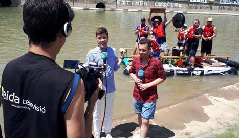 Lleida Televisió retransmetrà la Transsegre en directe