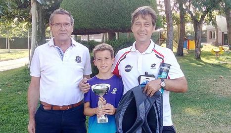 Lande Culleré guanya el Torneig juvenil nocturn del CT Lleida