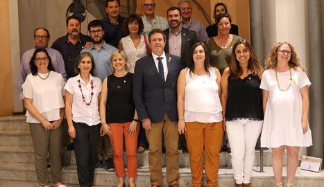 El nou consell comarcal de l'Alt Urgell.