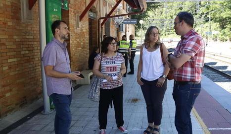 Alcaldes denuncien que el descarrilament a la Cerdanya demostra la