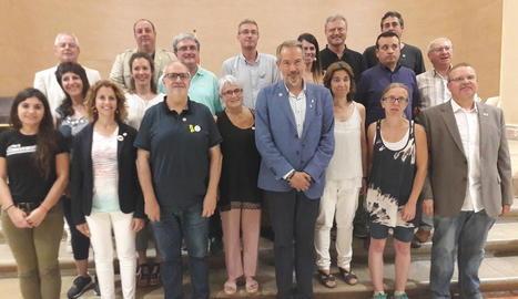 Francesc Lluch és el nou president del Consell Comarcal de la Segarra