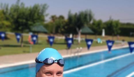 Paula Juste, nadadora del CN Lleida.
