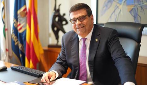 Ferran Aril, al seu nou despatx al capdavant de la Catalana.