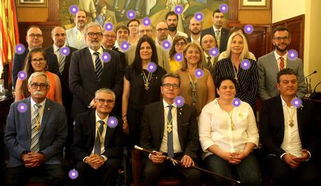 INTERACTIU. Consulta qui és qui a la nova Diputació de Lleida