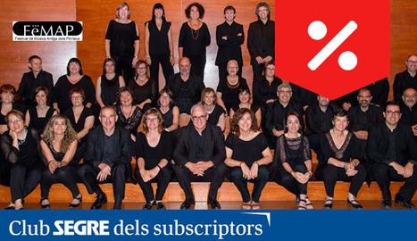 El Cor de Cambra Enric Granados interpretarà un repertori basat en cançons antigues del Pirineu.