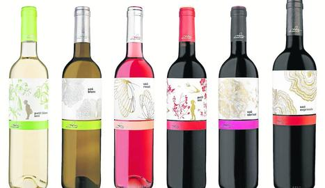 Sis dels vuit vins que han estat reconeguts.