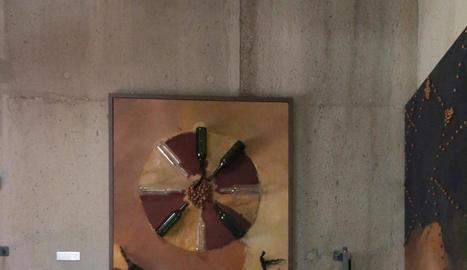 """Eva Lootz: """"És fantàstic poder intervenir expressament per un espai com la Vinya dels Artistes"""""""