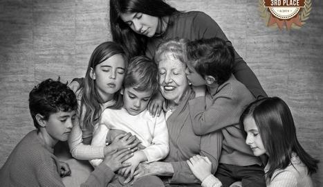 'Blue' ha estat la fotografia guanyadora en la categoria Infantil del certamen internacional AFNS Awards.