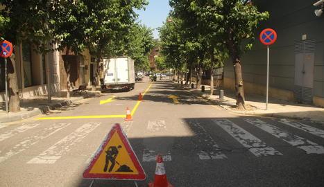 El carrer Onofre Cerveró serà de doble sentit mentre durin les obres.