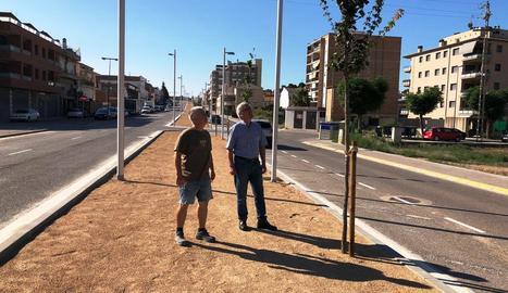 Not i Guasch, a l'avinguda Francesc Macià de les Borges.