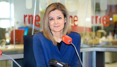 Pepa Fernández, a 'Las Mañanas'