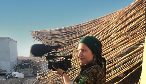 Alba Sotorra va rodar a la guerra de Síria el film 'Comandante Arian', premi Lleida Visual Art el 2016.
