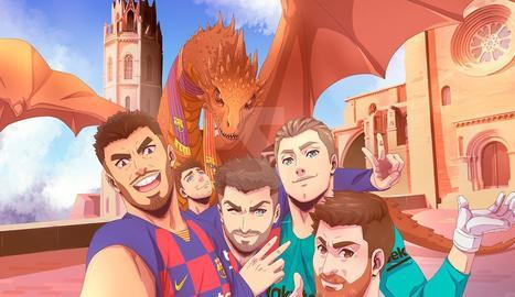 La Seu Vella de Lleida, protagonista d'un anunci del Barça al Japó