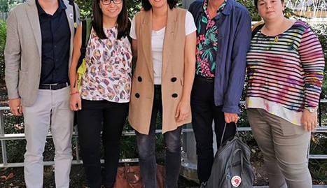 Pueyo visita Marta Rovira a Ginebra
