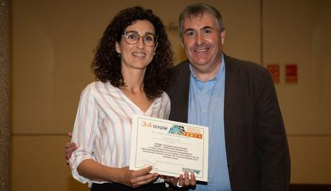 Entrega del premi al servei d'Endocrinologia i Nutrició