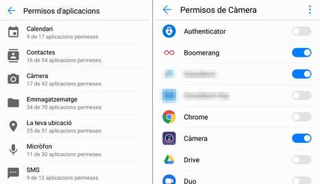 Com treure permisos d'aplicacions a Android?