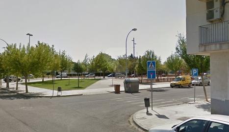 Encreuament de l'avinguda Alcalde Porqueres amb Laureà Figuerola