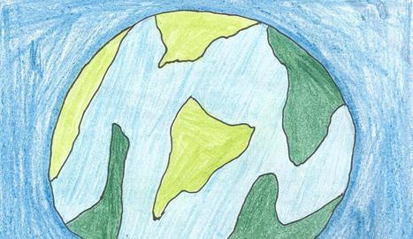 El dibuix del guanyador del concurs 'La vaca de l'Esbaiola't', l'Arnau Berenguer de 8 anys.