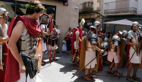 El Mercat Romà d'Iesso tanca la 23a edició dedicada a la figura de Juli César