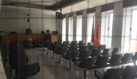 Imatge d'un jutjat penal de Lleida.