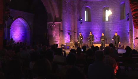 The Gourmets Vocal Quartet, a Balaguer