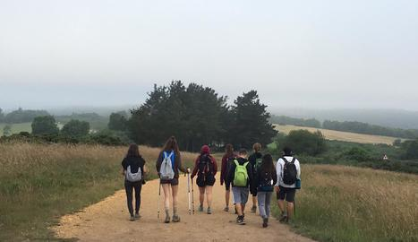 Cada dia caminaven de 20 a 25 quilòmetres