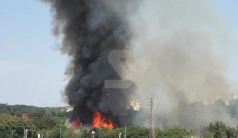 Incendi a Lleida