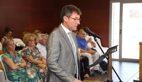 Ibarz va prendre possessió del càrrec com a president del Baix Cinca.
