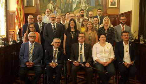 ERC i JxCat tindran setze dedicacions exclusives, una el PSC i una el Comú