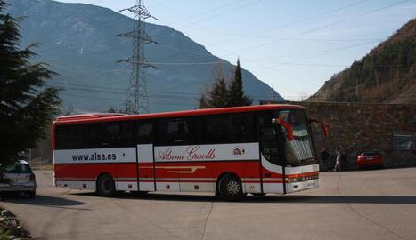 Imatge d'arxiu d'un autobús d'Alsina Graells.