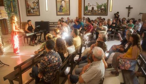 Concert de Cindy Izzillo i Ira Prat a l'ermita de Montalbà.