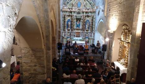 Guillem Anguera inaugura el 'Solistes' a Durro