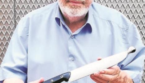"""Un inventor de Tàrrega crea un ganivet """"únic"""""""