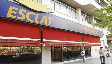 Un dels establiments Esclat (propietat del grup Bon Preu) a Lleida