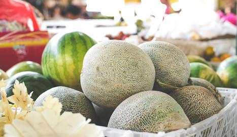 El meló és una de les fruites protagonistes dels plats d'aquest capítol.
