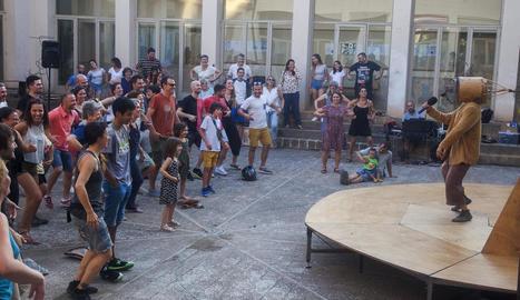 L'assaig obert, l'últim abans del certamen, va tenir lloc ahir al claustre de l'Escola Ondara.